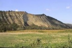 De heuvels tussen Oarba en Ogra
